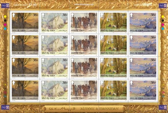 Hoggatt Stamp Sheet
