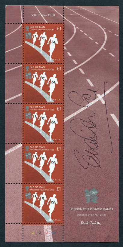 Look Who Loves Our London 2012 Paul Smith Olympic Stamps!