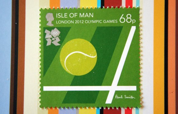 London 2012 Olympic Games Stamps Paul Smith
