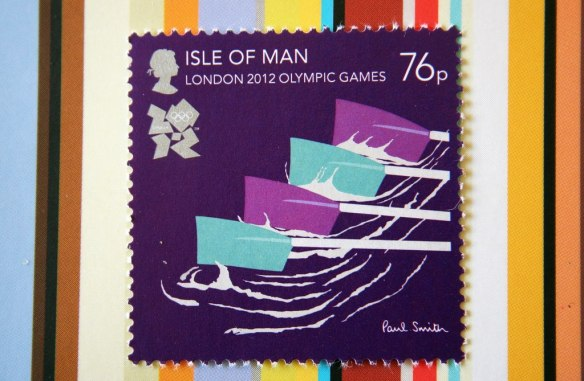 London Olympic Games Paul Smith Stamps