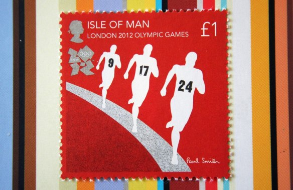 London 2012 Olympic Games Paul Smith Stamps