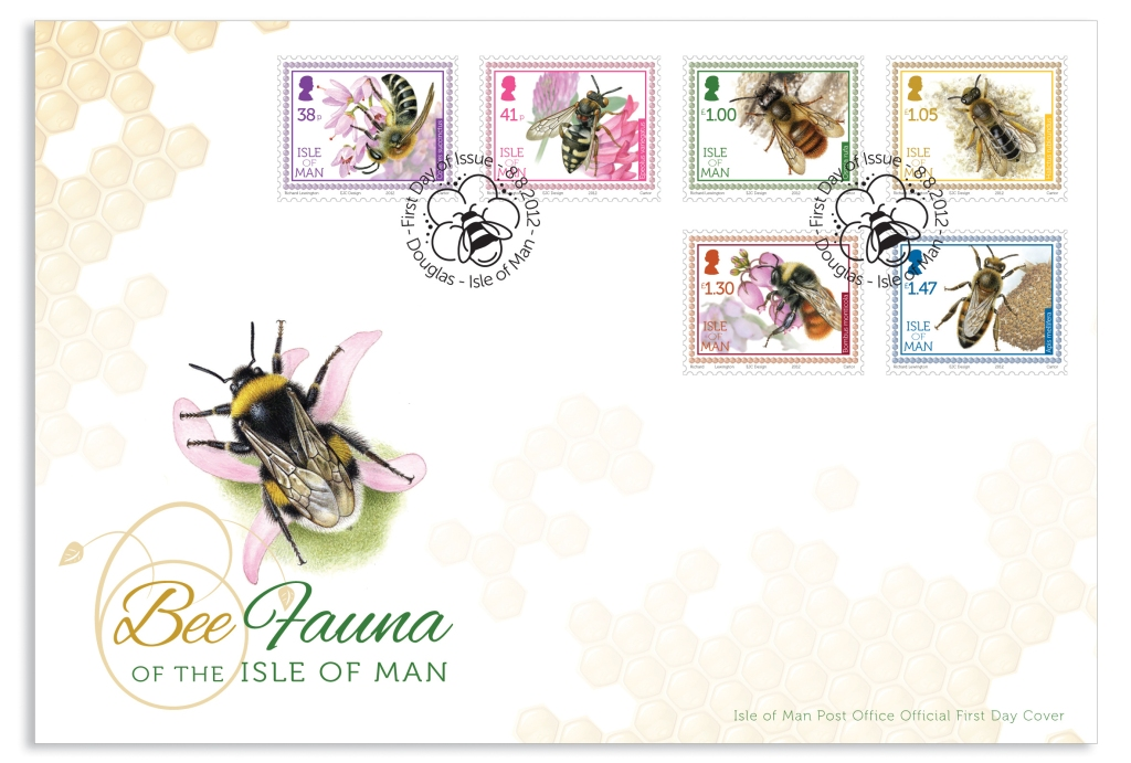 Bee Fauna Of The Isle Of Man - First Day Cover