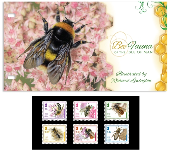 Bee Fauna Of The Isle Of Man - Presentation Pack