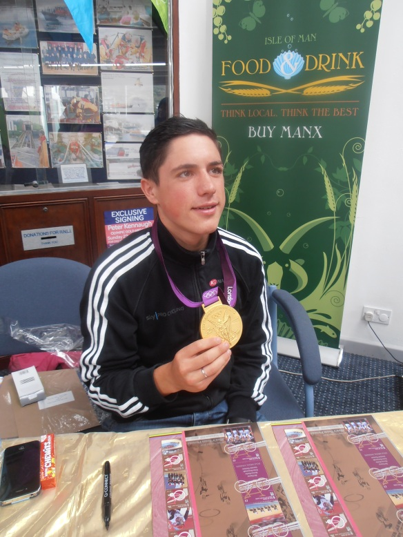 Team GB Manx Olympic Gold Medalist Peter Kennaugh