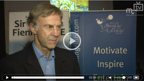 Sir Ranulph Fiennes MT TV Interview