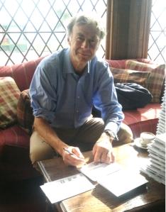 Sir Ranulph Signing FDC