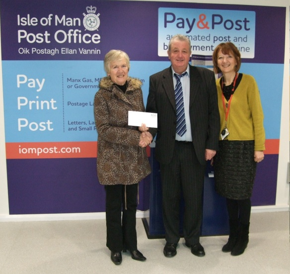 Isle of Man Post Office Christmas Comp Winner