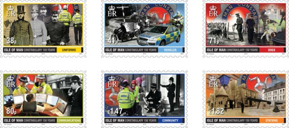 Constabulary Stamp Set-1