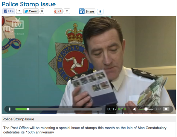 Isle of Man Constabulary Stamps Video